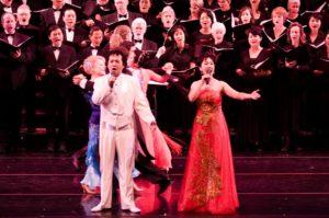 2009年明华合唱团公演《大洋飞歌》》