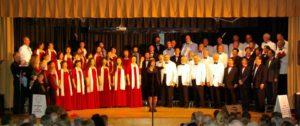 2011年明华合唱团与Good Tim's Choir联合演出